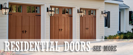 Residential Door Sales, Installation & Service